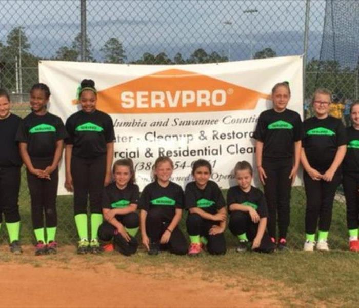 SERVPRO of Coulmbia and Suwannee Counties Softball Team