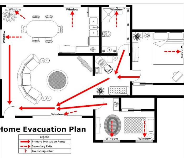 Fire Damage Do you have a emergency fire plan for your home?